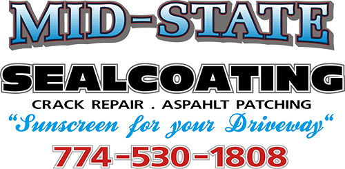 Midstate Sealcoating | Driveway sealcoating company Massachusetts Logo